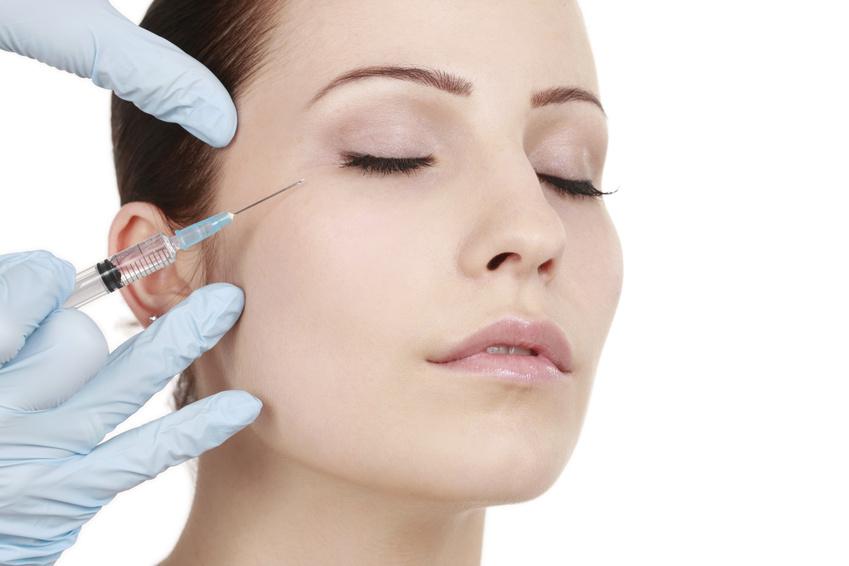 Injections de Botox sur le visage